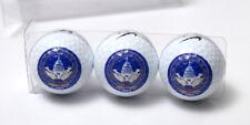 Nike sleeve of 3 2005 presidential inaugurations commemorative golf balls New