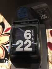 Preowend in  Good Working Conditions Nike+Sport Watch GPS Black/Blue Retail $169