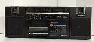 Vintage Panasonic RX-C36 AM / FM Radio Cassette Player Stereo Boombox Tested