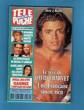 ►TELE POCHE 1489/1994 - DAVID CHARVET - HELENE ROLLES - GERARD LENORMAN - REEVES