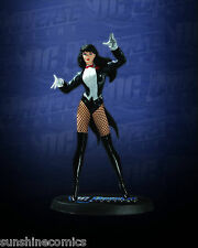 Zatanna Statue 1156/4000 DC Universe Online Jim Lee DC Direct NEW SEALED