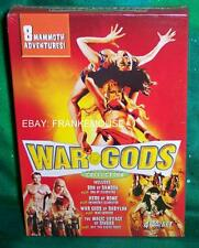 NEW RARE OOP WAR GODS COLLECTION 8 MAMMOTH ADVENTURES 4 DISC MOVIE BOXED DVD SET