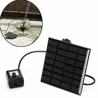 Solar Power Panel sets Brushless Cycle Water Pump Submersible Garden Watering us