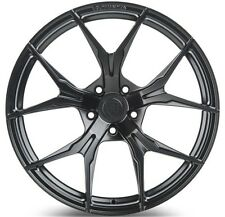 19x11 Rohana RFX5 5x114 +28 Matte Black Rims (Set of 4)