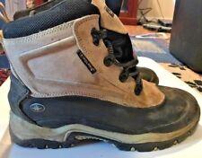 Polaris Women's Winter Boots Shoes Size 9 Waterproof Leather Tan