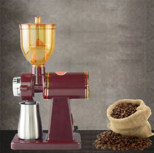 220V Electric Automatic Coffee Bean Mill Grinder Maker Machine w/ Steel cup
