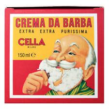 Shaving Cream Soap by Cella (5.2oz Cream)