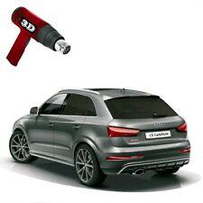 1x Heckfolie 3D-vorgewölbt Tönungsfolie tiefschwarz 5% Audi A6 C6 4F Avant 05-11