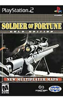 Soldier of Fortune: Gold Edition Ps2 PlayStation 2 Game Disc Only 12T