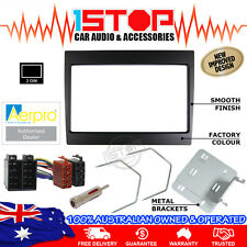 VY-VZ COMMODORE BLACK 2DIN FACIA KIT ISO HARNESS ANTENNA ADAPTOR REMOVAL TOOLS