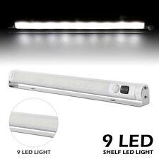 9 LED PIR Motion Sensor Strip Lights for Kitchen Under Cabinet Cupboard Counter
