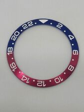 Red / Blue Pepsi Ceramic Bezel Insert for Rolex GMT Master II Outer Ring