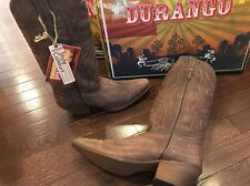 Durango Crush Chocolate Leather Cowgirl Western Boots DCRD182 Women's 11 M