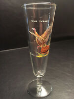Ned Smith Wild Turkey Bird Fowl Footed Pilsner Beer Drinking Glass Vintage MINT