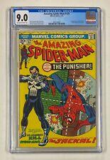 AMAZING SPIDER-MAN #129 Marvel Comics 1974 CGC 9.0 PUNISHER 1st Appearance