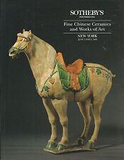 SOTHEBY'S CHINESE CERAMICS JADES IVORY BRONZES ENAMELS FURNITURE Catalog 1993