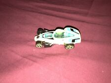 Hot Wheels Loose Brutalistic Diecast Car (Neon Yellow / Blue, 2004)