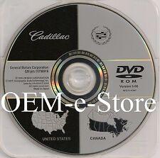 2003 2004 2005 2006 Cadillac SRX Deville Seville Navigation DVD Map U.S Canada