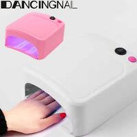 Pro Nail Dryer Gel UV Séchoir à ongles Lampe à polymériser 220V Ongles 36W