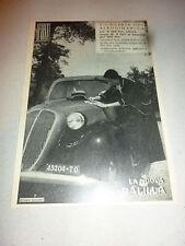 advertising pubblicita'  FIAT NUOVA BALILLA CILINDRATA 1100 --  1937