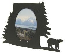 Bear 3x5 Black Metal Picture Frame