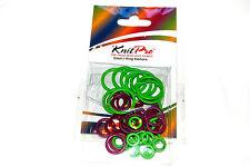 Knitpro Anillo marcadores Pack De 50-Tres Tamaños