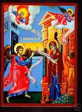 Maria Verkündigung Engel Gabriel Ikone Ikona Ikonen Icon Annunciation Holy Mary