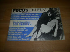 FOCUS on Film Magazine  Early Edition number 3 May - Aug 1970