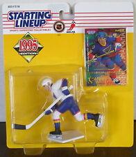 1995 Brendan Shanahan Starting Lineup Stl Blues in pkg w/ SLU Fleer Hockey Card
