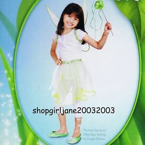 Disney Fairies Tinker Bell  Dress-up Costume set in gift box - One Size BNIB
