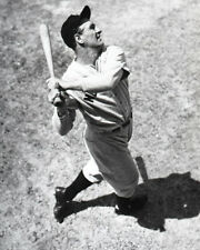 1934 New York Yankees LOU GEHRIG Glossy 8x10 Photo Major League Baseball Print