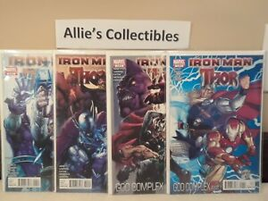IRON MAN THOR GOD COMPLEX #1-4 VF/NM COMPLETE SET 2011