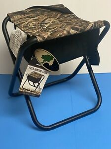 Mossy Oak Field Hunting Stool with Underseat Storage Supports up to 225 lbs