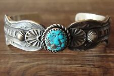 Navajo Indian Jewelry  Turquoise Bracelet by Kevin Billah