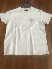 ABERCROMBIE & FITCH White GRAPHIC T-SHIRT TOP MENS SIZE EXTRA LARGE XL