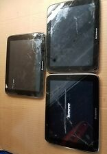 LOT OF 3 Lenovo Idea Tab Tablet PC S2109 2291 8GB Wi-Fi 9.7in Gun Metal