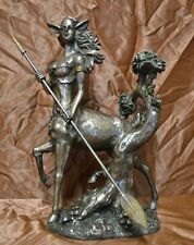 Museums Collection Dryade Baumgeist Antike Bronze Figur Skulptur Deko Götter Neu