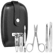 NEW Sephora BLACK Travel Tips Mini Mani Kit Manicure File Pusher Clipper Scissor