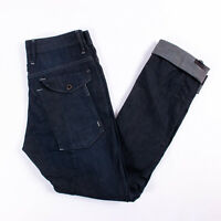 G Star Raw Mens 'General 5620 Slim' Cargo Dark Blue Denim Jeans - Size 32W/36L