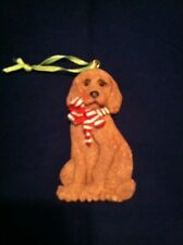 Golden Retriever Dog Christmas tree Ornament