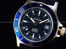NEW GLYCINE 42MM COMBAT SUB 20 SWISS MADE AUTO SAPPHIRE DIVER WATCH, GL0089 3908