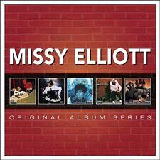 Original Album Series [Slipcase] by Missy Elliott (CD, Sep-2013, 5 Discs,...