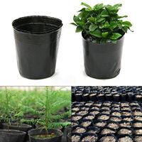 Lots 100pcs Plastic Nursery Pot Plant Holder Raising Block Pots Garden