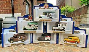 6 BNIB Oxford Die-Cast Replica Vintage Vans - All Ltd Ed with Certificates
