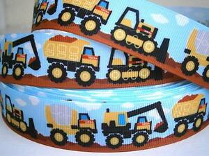 """Digger Ribbon 1"""" (25mm) Wide 1m Only £1.49 FREE P&P"""