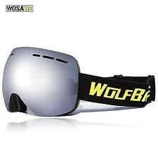 Ski Goggle, Wolfbike, Wide Spherical Dual Layer Lens Snowboard , Oversized