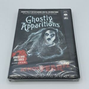 AtmosFearFX Ghostly Apparitions Halloween Digital Decoration DVD