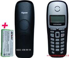 Siemens Gigaset A 16 A16/A160/A165/160/165 Mobilteil mit Akku Handgerät Hörer