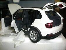 80432153612 DEALER KYOSHO 1 18 BMW X5 4.8i WHITE NEW FREE SHIPPING WORLDWIDE