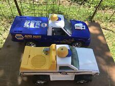 Lot Of 2 Napa Auto Parts Toy Trucks Nylint & Other